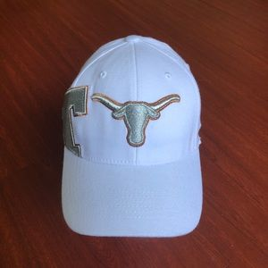 Other - Texas Longhorn white Hat L/XL